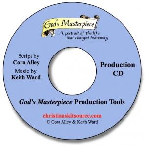 God's Masterpiece Production CD image.