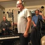 Keith Ward in his recording studio.